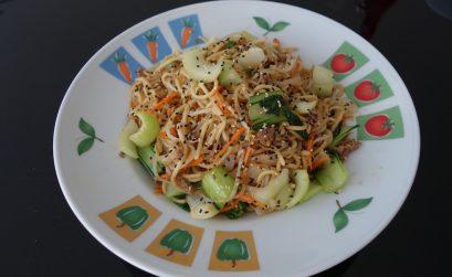 Beef Chow Mein Stir-Fry