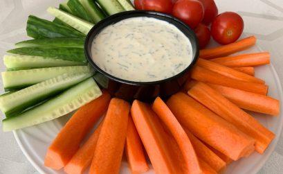 Crème Fraiche Vegetable Dip