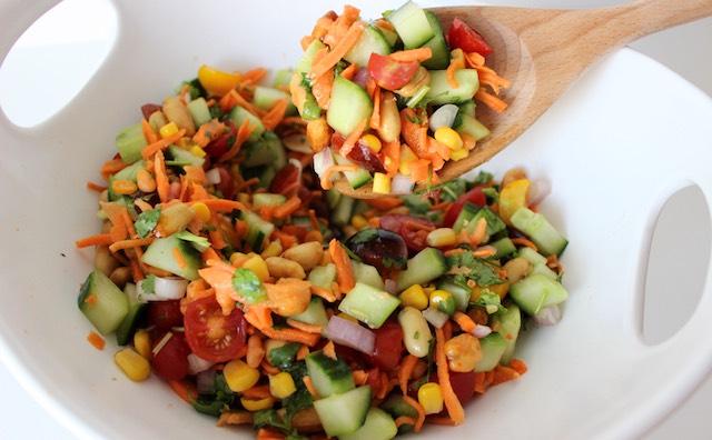 indian kachumber salad