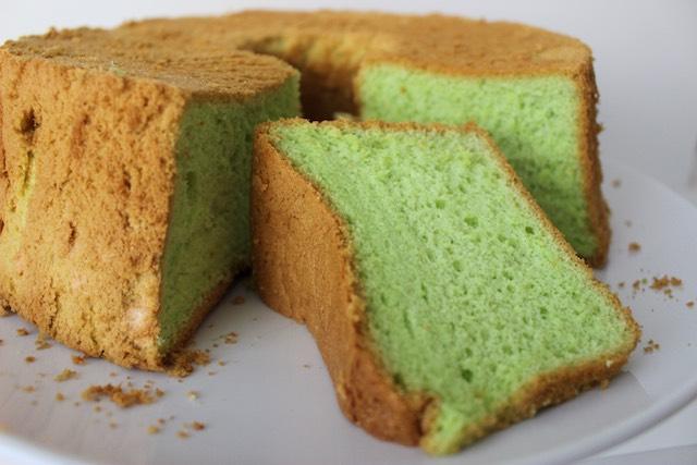 Pandan (Chiffon) Cake Recipe