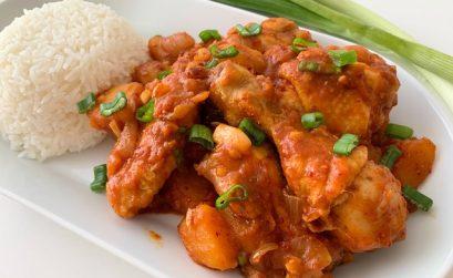 Korean Braised Chicken Stew