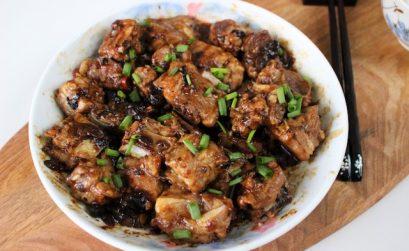 steamed black bean ribs