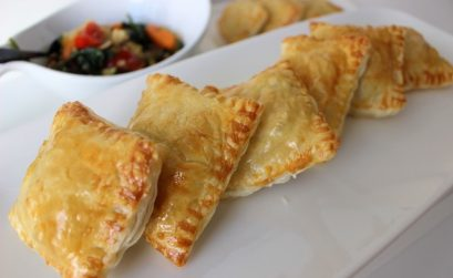 vegetable puff pastry pocket